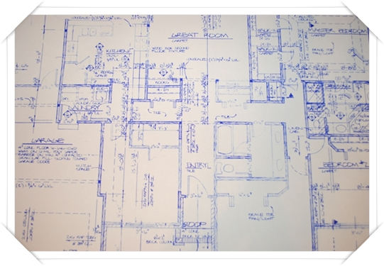 J Harrington Construction Blueprints for House pocket 1